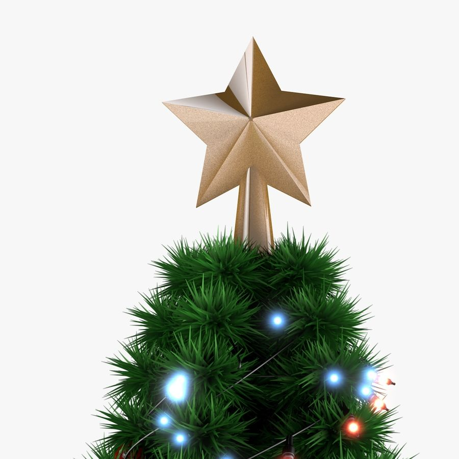 Christmas Tree royalty-free 3d model - Preview no. 6