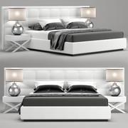 Jazz bed 3d model