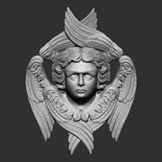 天使H 3d model