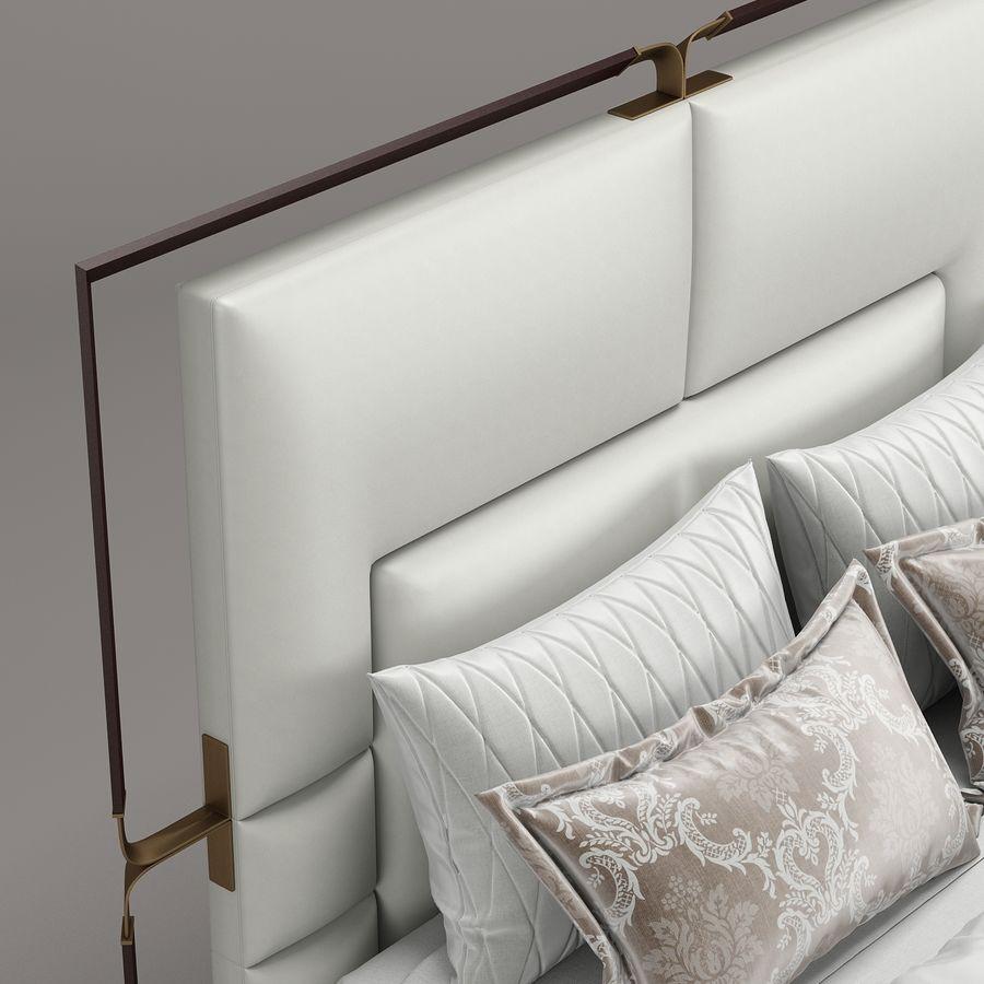 Rugiano Grace yatak royalty-free 3d model - Preview no. 5