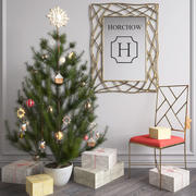 JUL DECOR SET 3d model