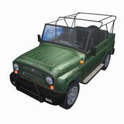 Uaz Hunter 3d model