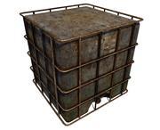 Water Storage Tank 3d model
