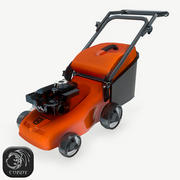 Lawn Mover low poly 3d model
