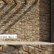 3D无缝石墙7 3d model