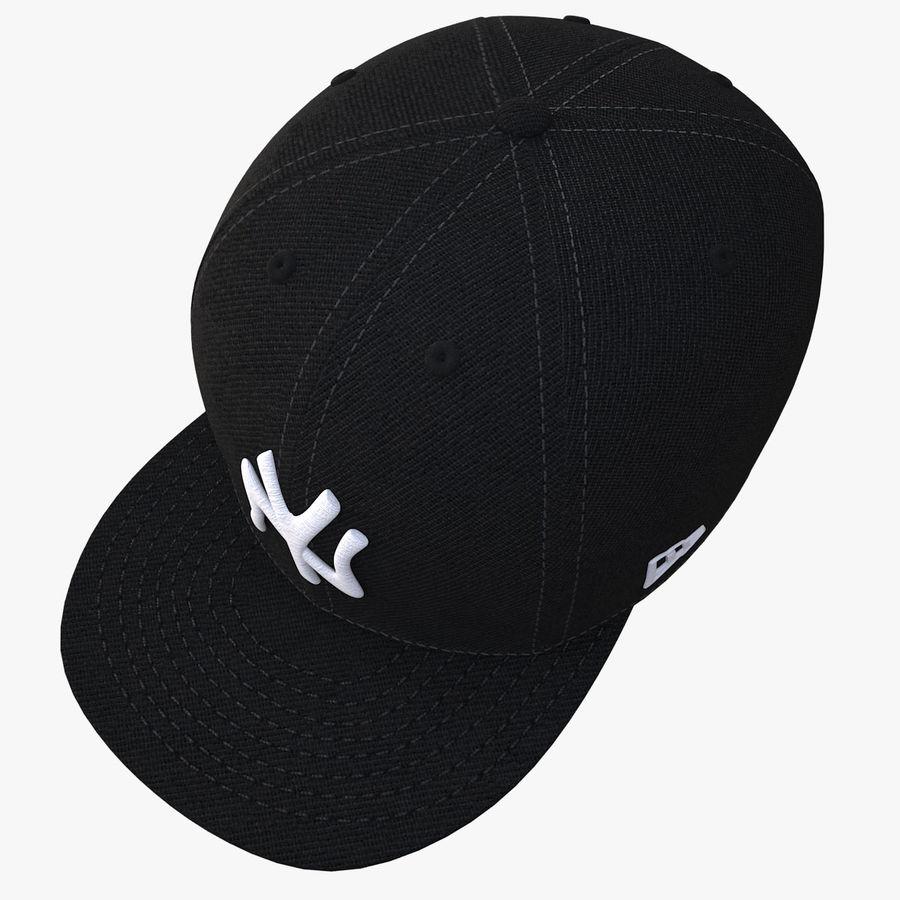 棒球帽 royalty-free 3d model - Preview no. 4
