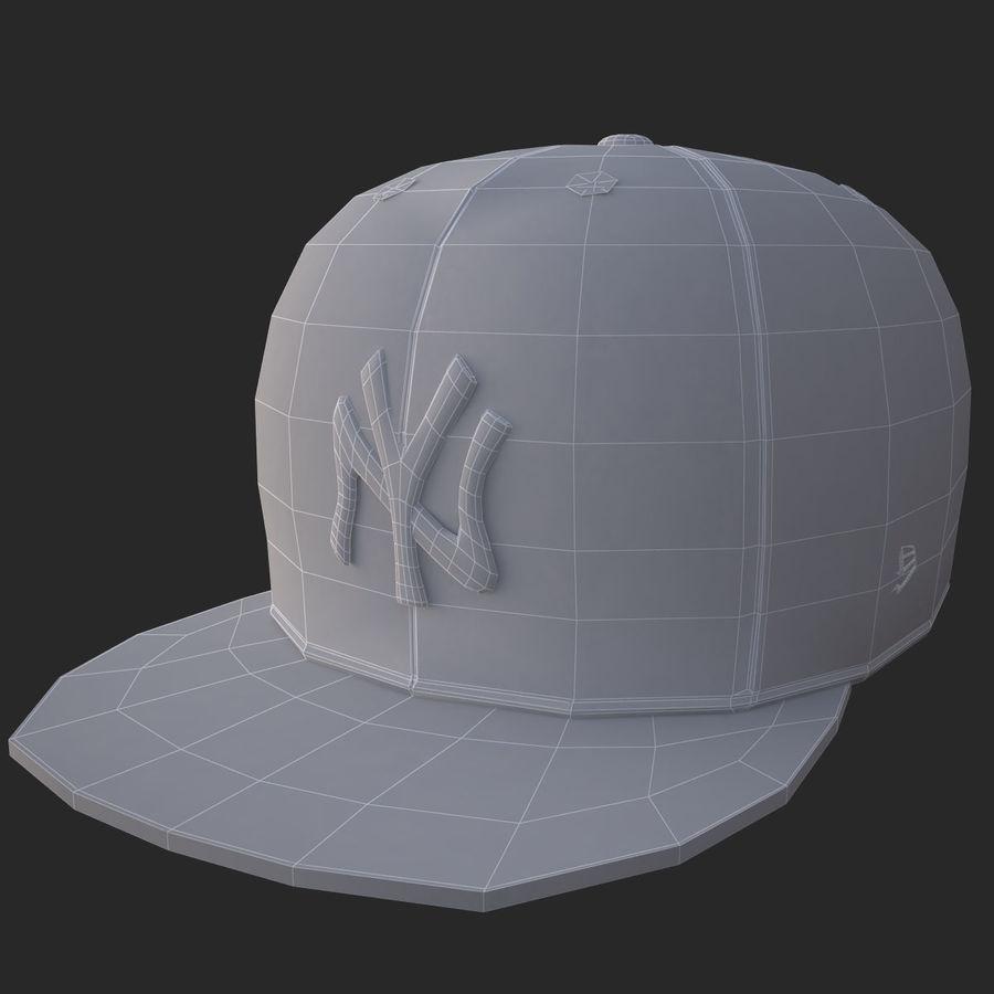 棒球帽 royalty-free 3d model - Preview no. 18