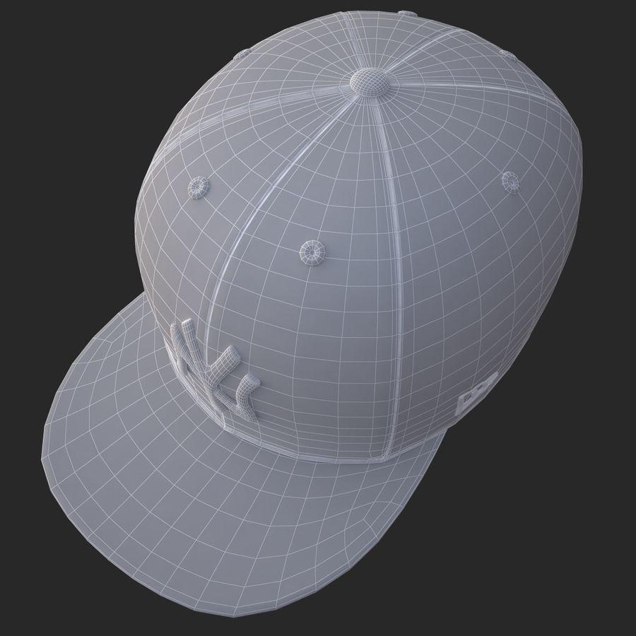 棒球帽 royalty-free 3d model - Preview no. 22
