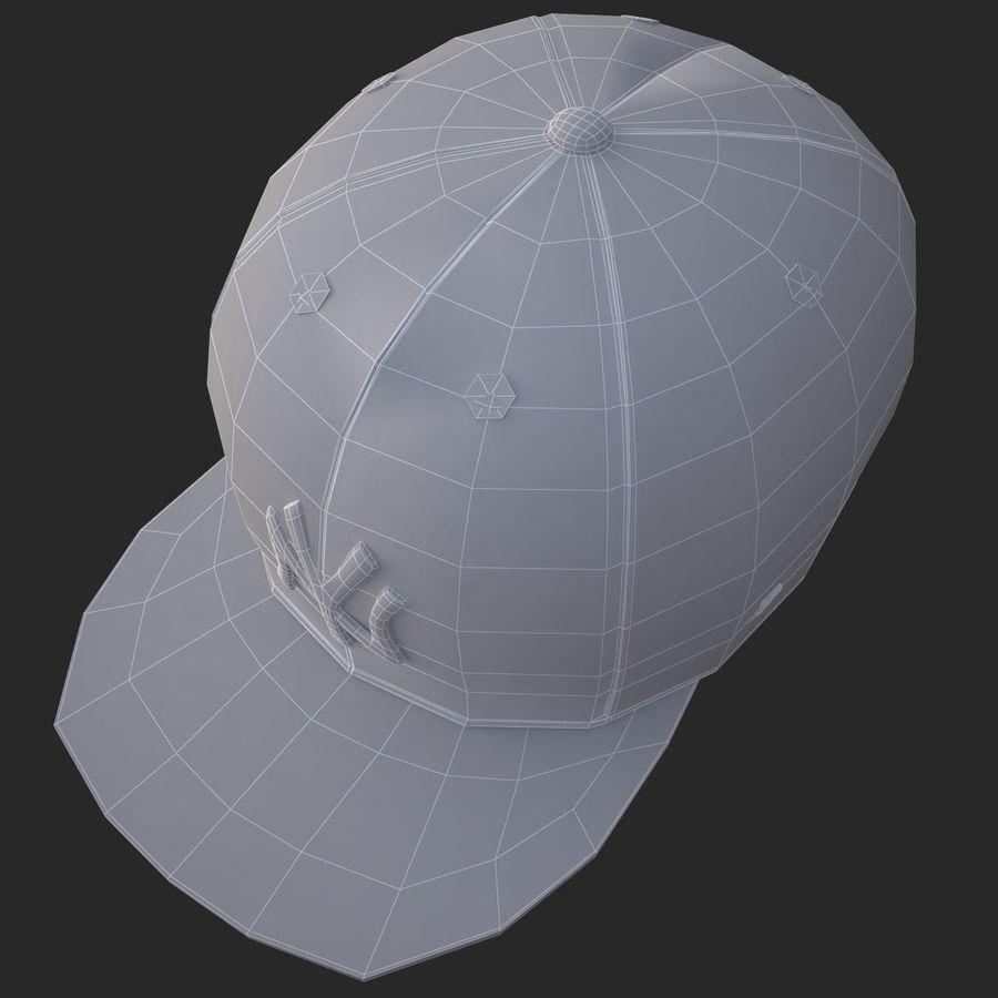 棒球帽 royalty-free 3d model - Preview no. 21