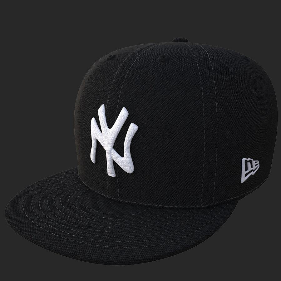 棒球帽 royalty-free 3d model - Preview no. 16