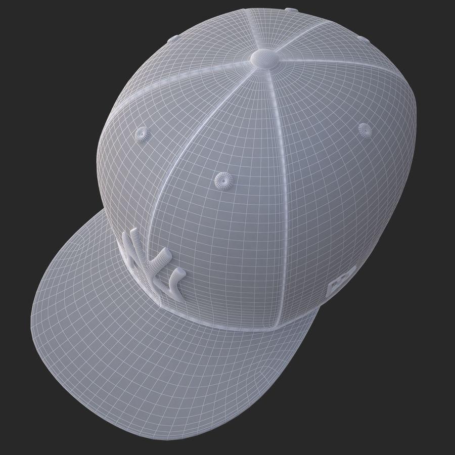 棒球帽 royalty-free 3d model - Preview no. 23