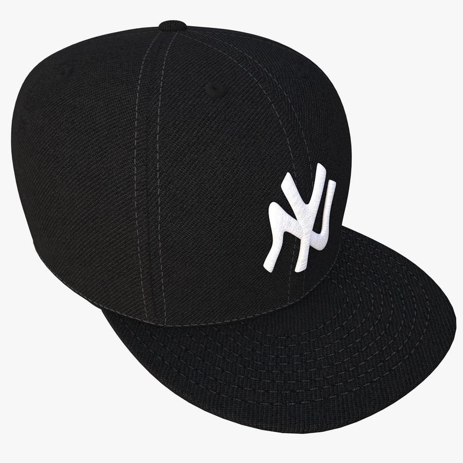 棒球帽 royalty-free 3d model - Preview no. 7