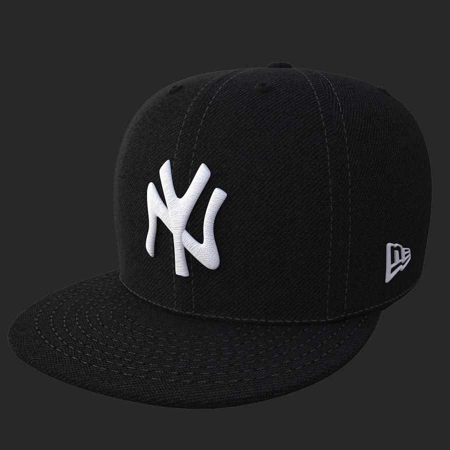 棒球帽 royalty-free 3d model - Preview no. 15