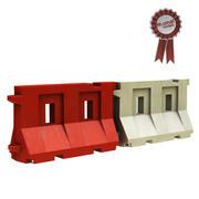 Barrière plastique 3d model