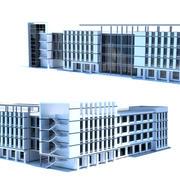 Stadt-Einkaufszentrum 3d model