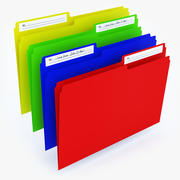 Cartella di file 3d model