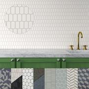 Seamless 3D Ceramic Tiles 3 3d model