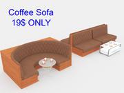 Кофейный набор 3d model