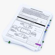 Оформление документации 3d model