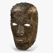 金属面具V1 3d model