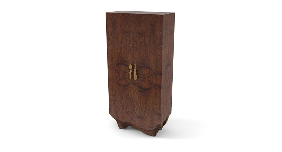 Brabbu Eeastern China Armoire Cabinet royalty-free 3d model - Preview no. 2