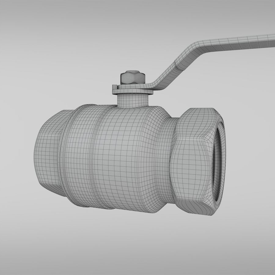 Valve royalty-free 3d model - Preview no. 12