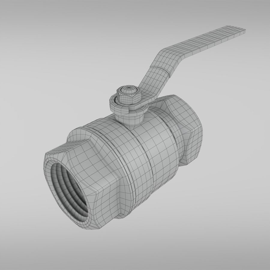 Valve royalty-free 3d model - Preview no. 5