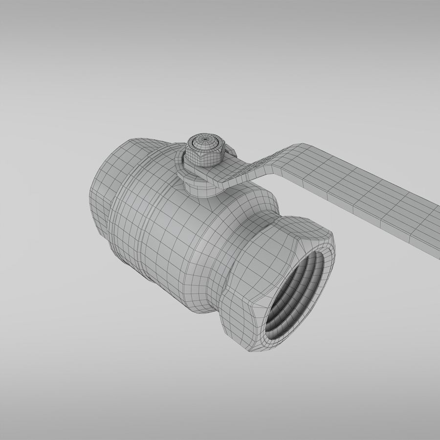 Valve royalty-free 3d model - Preview no. 8