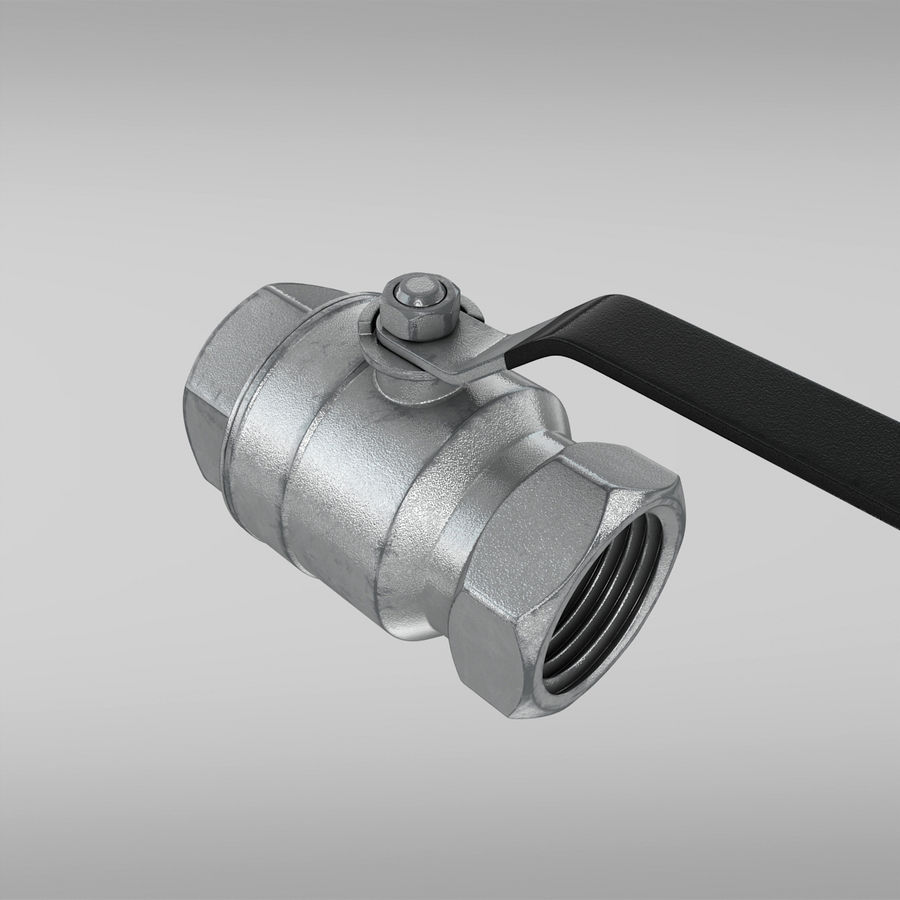Valve royalty-free 3d model - Preview no. 7