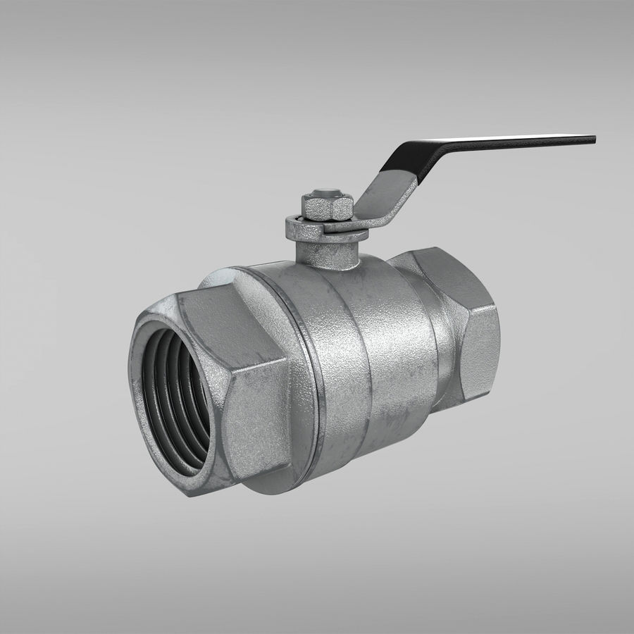 Valve royalty-free 3d model - Preview no. 1