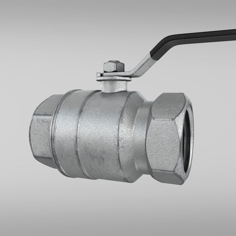 Valve royalty-free 3d model - Preview no. 10