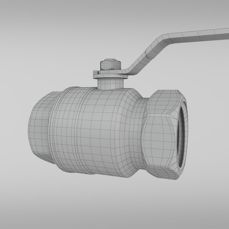 Valve royalty-free 3d model - Preview no. 11