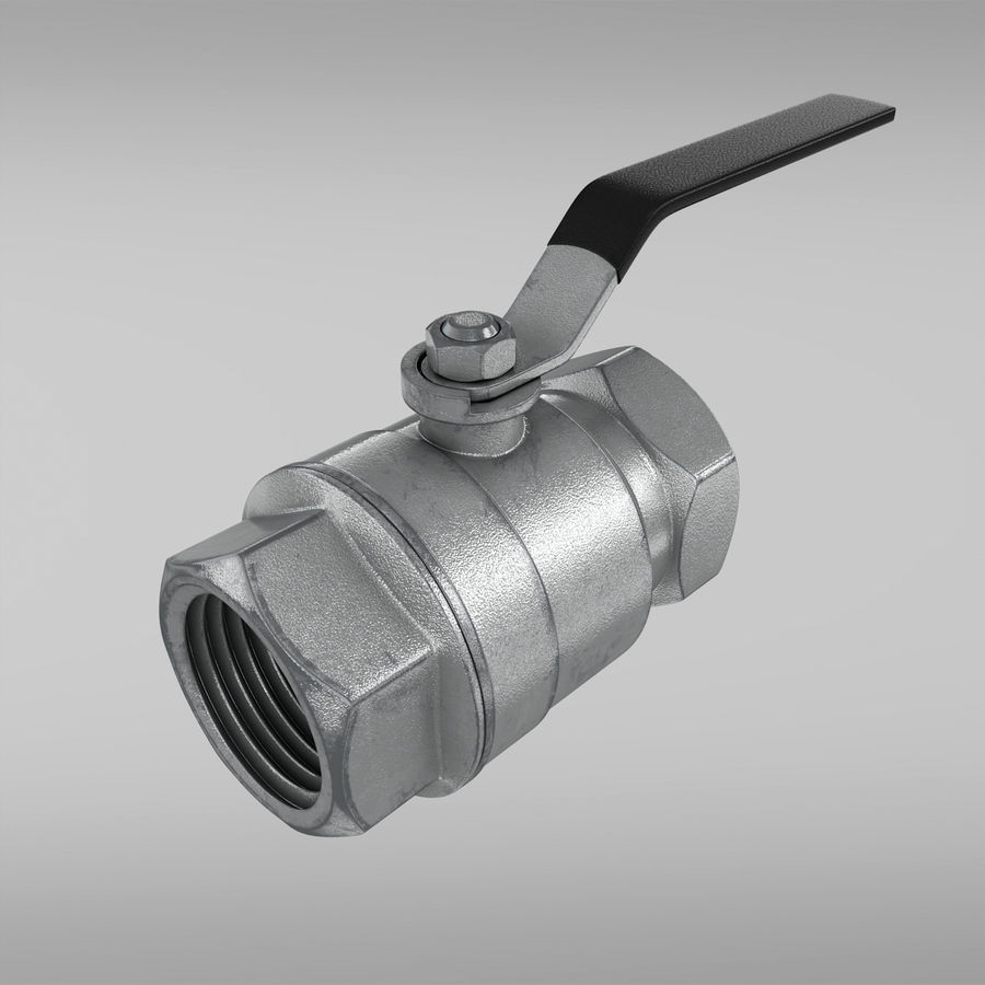 Valve royalty-free 3d model - Preview no. 4