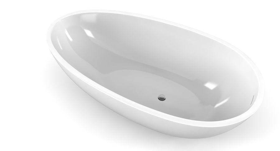 Wolnostojąca kąpiel Agape Spoon Xl royalty-free 3d model - Preview no. 2