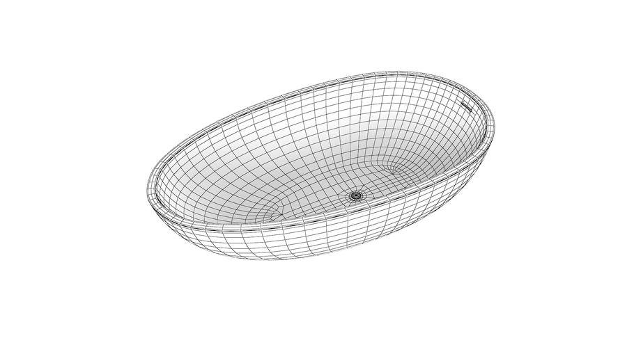 Wolnostojąca kąpiel Agape Spoon Xl royalty-free 3d model - Preview no. 4