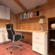 Work Space 3d model