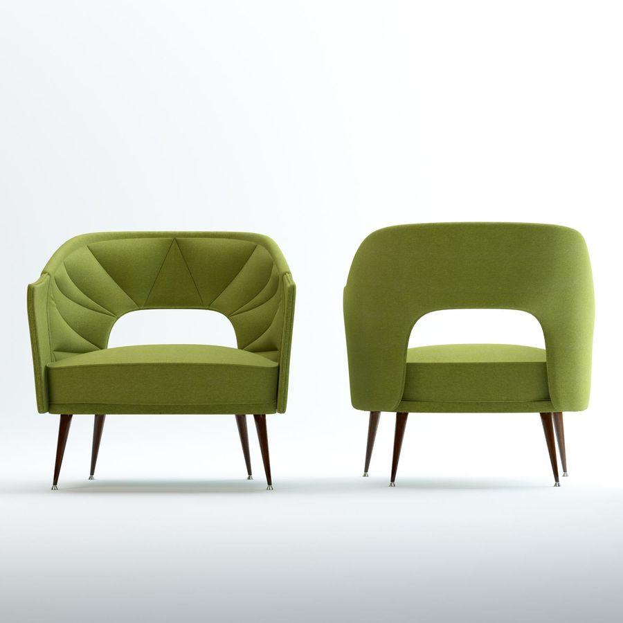 stola fåtölj royalty-free 3d model - Preview no. 1