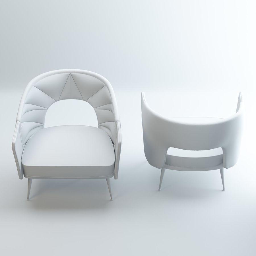 stola fåtölj royalty-free 3d model - Preview no. 4
