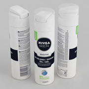 Nivea Men Sensitive Shaving Gel 200ml 3d model