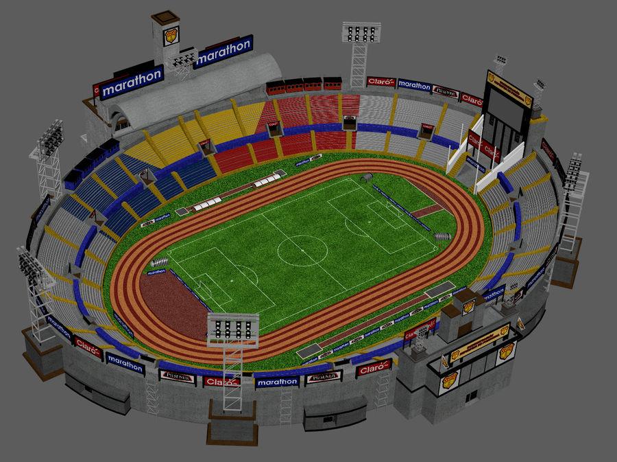 Stadion piłkarski royalty-free 3d model - Preview no. 5