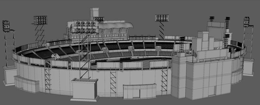 Stadion piłkarski royalty-free 3d model - Preview no. 10