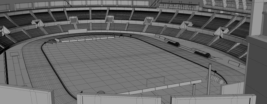 Stadion piłkarski royalty-free 3d model - Preview no. 7