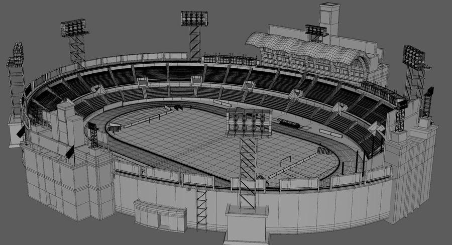 Stadion piłkarski royalty-free 3d model - Preview no. 9
