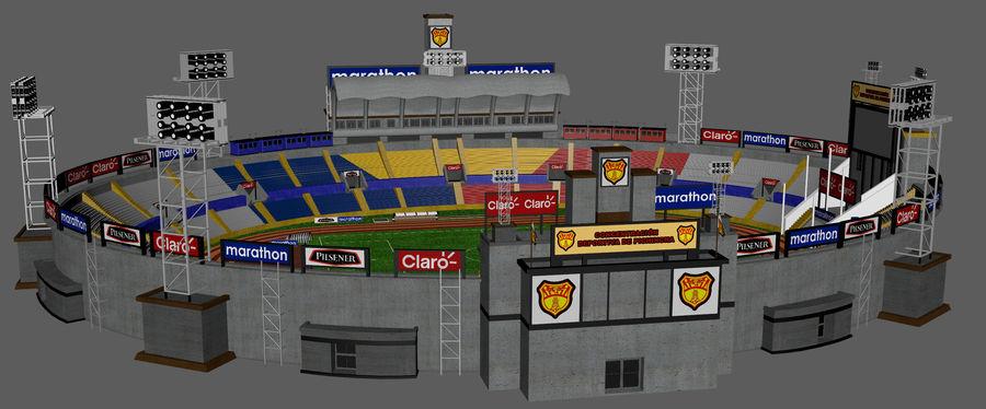 Stadion piłkarski royalty-free 3d model - Preview no. 4