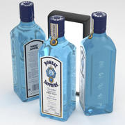 Bombay Sapphire Dry Gin 75cl 3d model