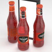 Стронгбоу Сидр Красные Ягоды 330 мл Бутылка 3d model