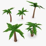 Cartoon Palm Tree V2 3d model