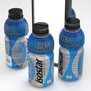 Beverage Bottle Isostar 500ml 3d model
