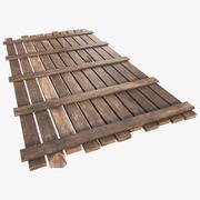 Wood Blocker 3d model
