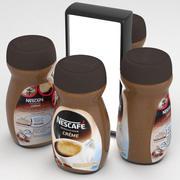 Nescafe Sensazione Creme Instant Coffe Jar 200g 3d model